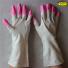 Latex long cuff household working dish washing gloves