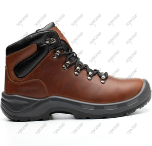 PU TPU outsole anti slip construction mens safety shoes for worker
