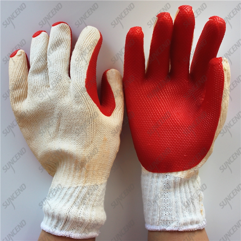 Winter 10G laminated rubber coated crayfish gloves for South Africa