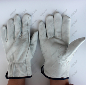 Sheep skin driver gloves