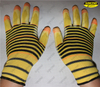 Nylon seamless knitted pu coated palm fit gloves