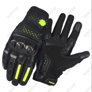 Leather Palm Coated Customized Racing Glove