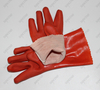 27cm/30cm Orange/Blue/Green/Black PVC Fully Coated Gloves with 100% Cotton Lining