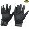 Abrasion resistant mining working synthetic leather palm mechanics tool gloves