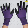 Wholesale sandy nitrile palm dipped industrial working gloves