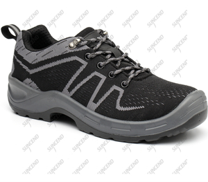 Mesh upper PU TPU sole outdoor climbing trekking shoes