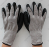 10 Gauge 5 Threads Palm And Thumb Latex Coated Crinkle Finish Work Glove