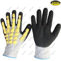 Mechanical Anti Vibration Anti Cut Work Gloves