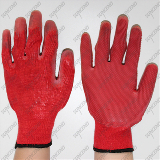 Firm Grip 10G T/C Liner Laminated Special Tooth Rubber Work Gloves