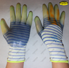 Oil resistant PVC coated industrial gloves