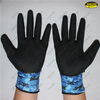Latex palm coated safety work industrial gloves