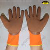 3/4 Latex rubber coated foam finish winter work gloves