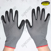 13g nylon liner sandy nitrile coated work gloves