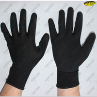 13G Polyester Liner Micro Foam Nitrile Coated Gloves
