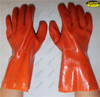 PVC sandy finish antislip protective fishery working glove