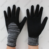 Polyester Liner Latex Coated Crinkle Work Gloves
