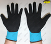 Nitrile coated industrial anti static working gloves