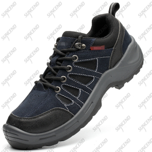 PU TPU Sole Suede Leather Upper Anti-Skid Waterproof Men Climbing Hiking Shoes