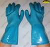 Manufacturer sandy finish pvc coated warm hand gloves