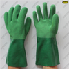 100% thick cotton liner soft sandy nitrile double coating gloves