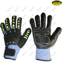 Customized anti vibration anti impact mechanics working gloves