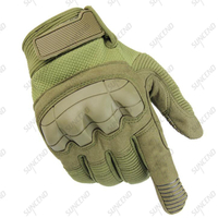 High Quality Sweat Absorbent Breathable Camouflage Outdoor Combat Half Finger Tactical Gloves