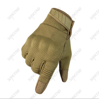 Suncend Custom Made Army Military Hard Knuckle Full Finger Black Tactical Gloves