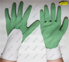 Oil resistant knitting nitrile coated industrial work gloves