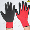 Industrial hand protective sandy nitrile gloves