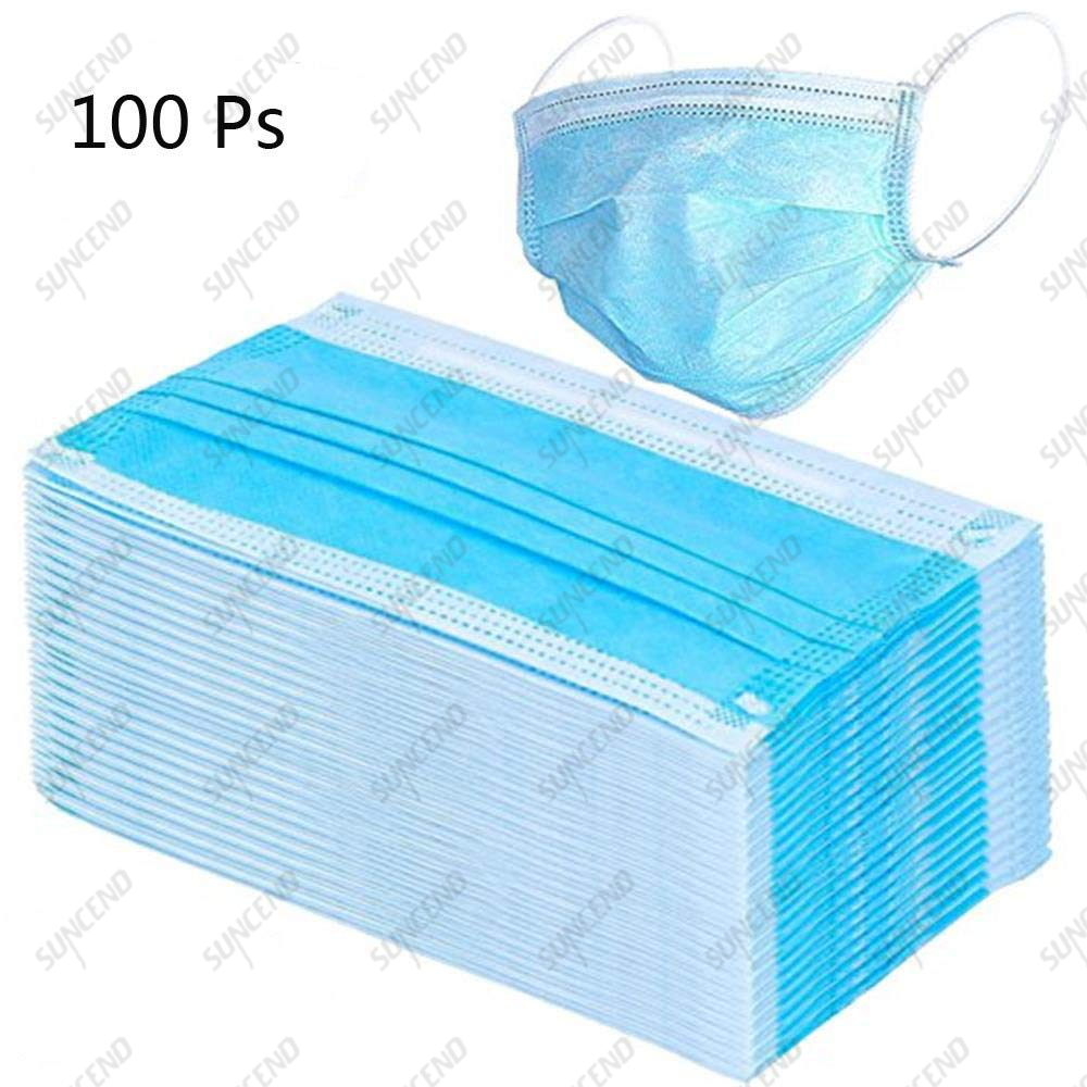 Wholesale Factory Price Disposable Nonwoven 3ply Face Mask Dust Mask